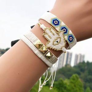 4pcs Handmade Tassel Bracelet Set ✨ Santo Pecado
